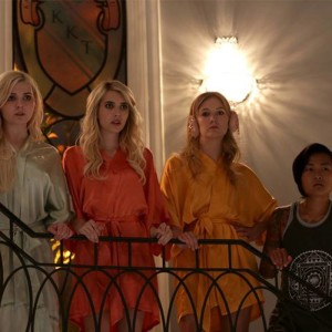Scream Queens: Chainsaw and Backstreet boys