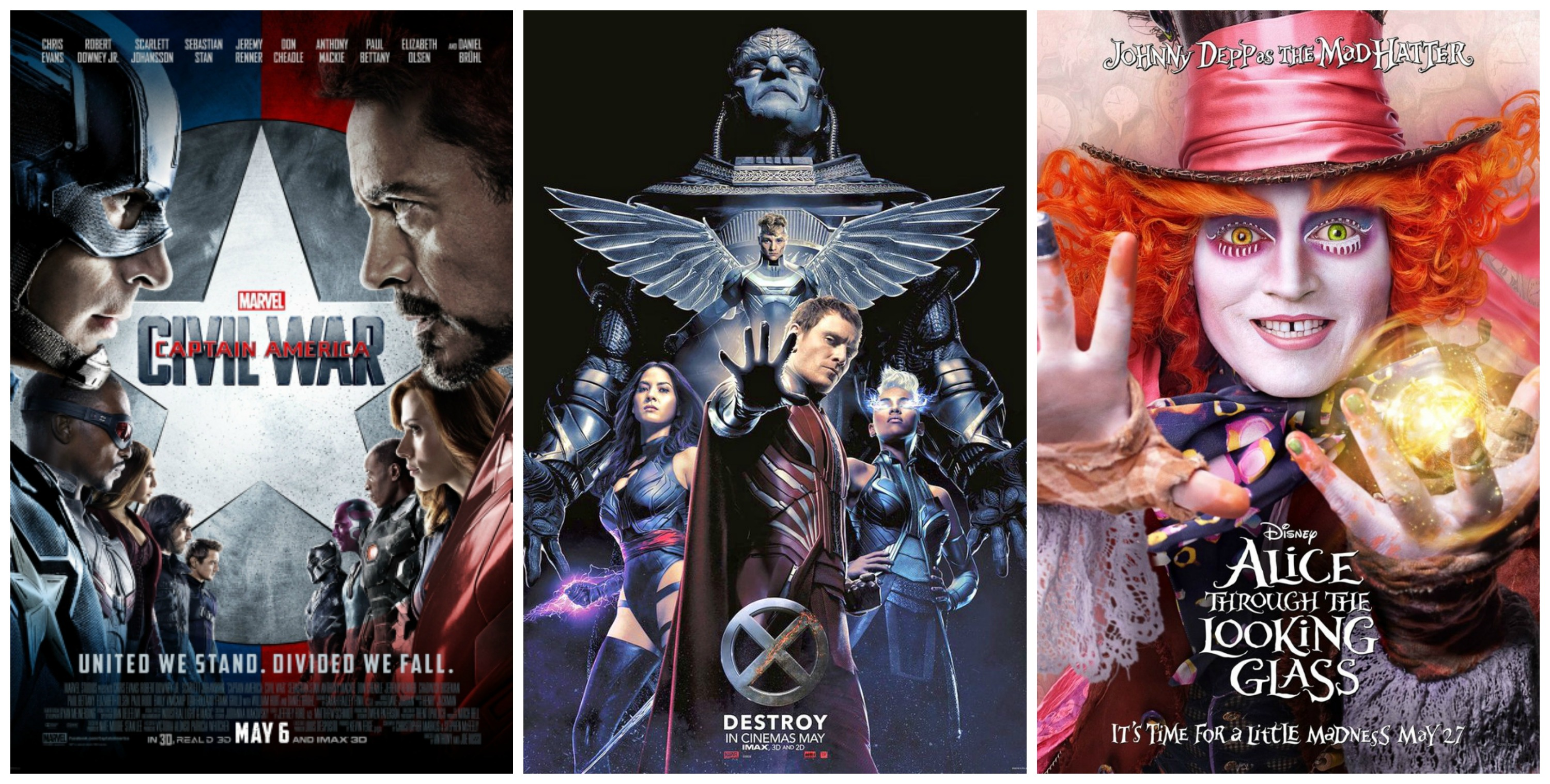May Movie Releases We Are Excited For