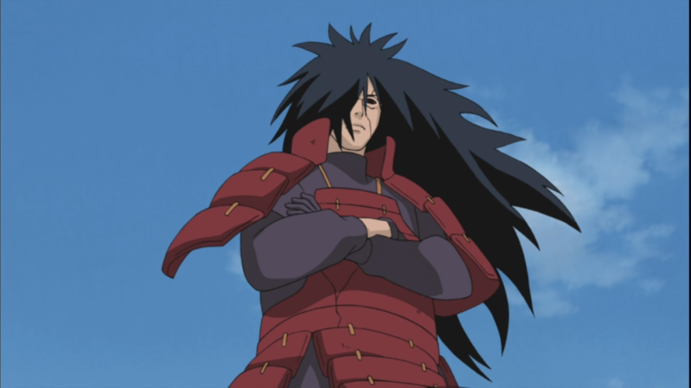 Anime Highlight: Madara Uchiha from Naruto and Naruto Shippuden