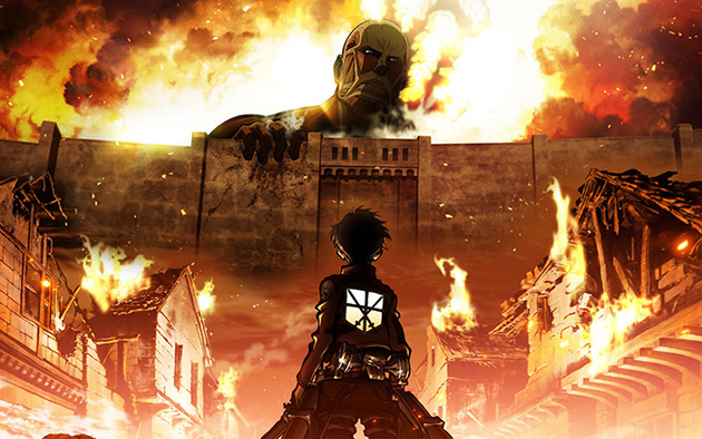 Anime Highlight: Attack on Titan Survey Corp