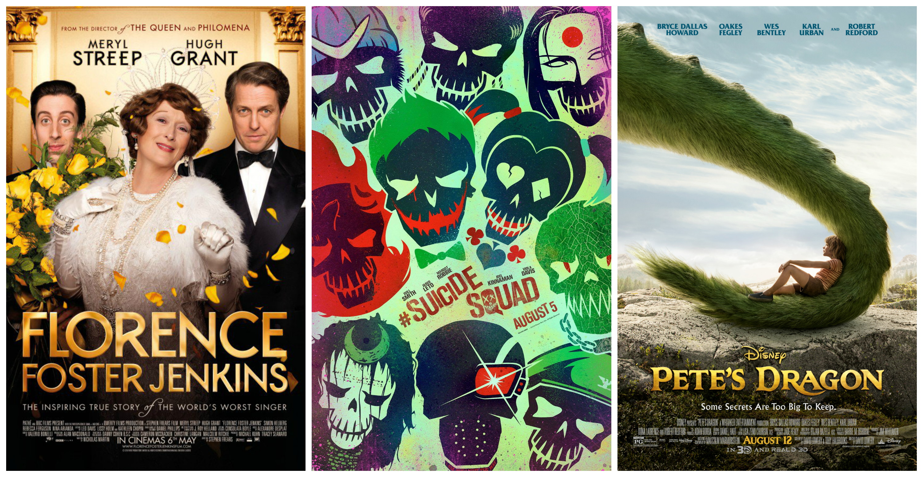 Our August Movie List