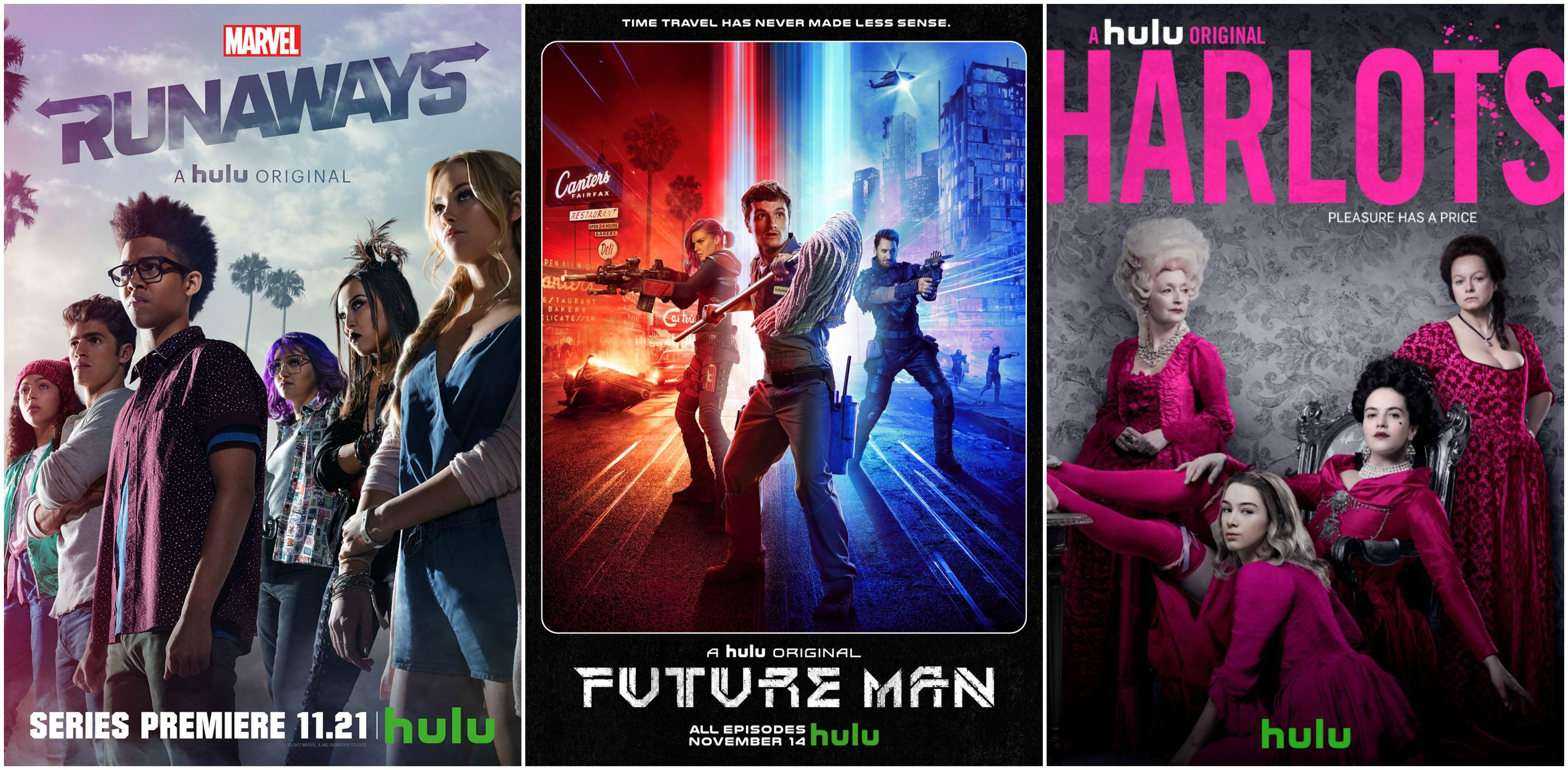 My Top 5 Winter Break Binge Worthy Hulu Series